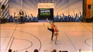 Bianca Brödner & Nick Codagnone - Nordbayerische Meisterschaft 2015