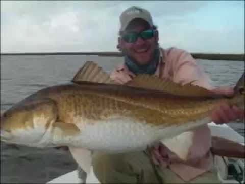 Louisiana Redfish Fishing – Mississippi Delta Marsh