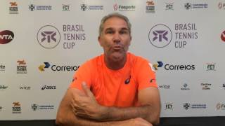 Fernando Roese marca presença no Brasil Tennis Cup