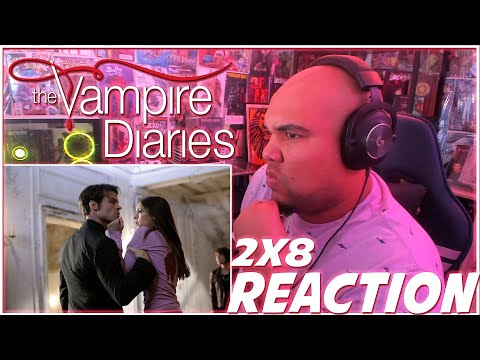 WHO THE HELL ARE YOU?! | The Vampire Diaries 2x8 REACTION | Season 2 Episode 8