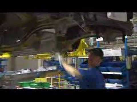 intranet factory - SUBSCRIBE for daily car videos! http://vid.io/xkQ Volvo Cars factory in Gent, Belgium.