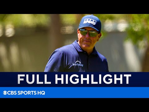 PGA Championship Final Round FULL Highlights Phil Mickelson caps epic performance  CBS Sports HQ