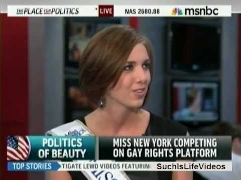 Miss New York Competing On Gay Rights Platform
