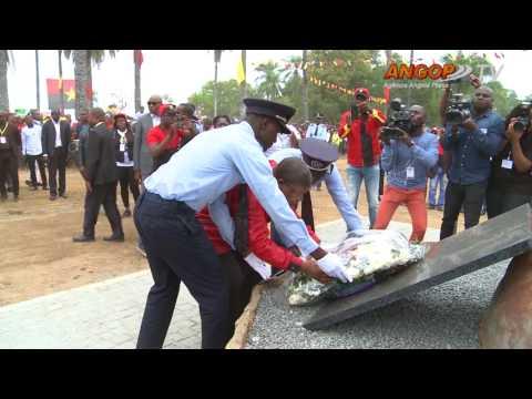 Eleições/2017: MPLA homenagea fundador da nação