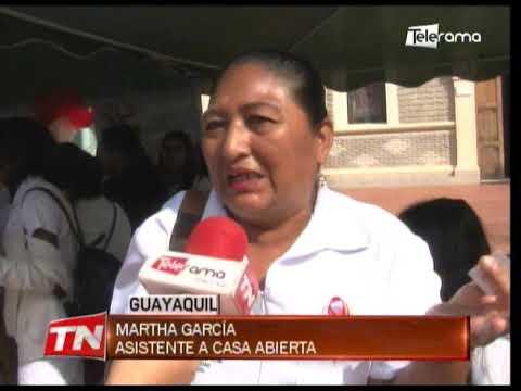 Casa abierta por día mundial contra VIH-Sida en hospital Luis Vernaza