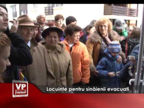 Locuințe pentru sinăienii evacuați