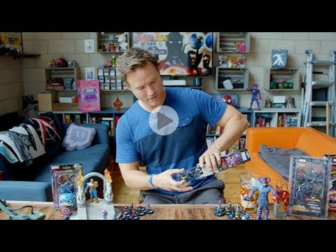 Marvel HeroClix Avengers Black Panther and the Illuminati Unboxing Part 3