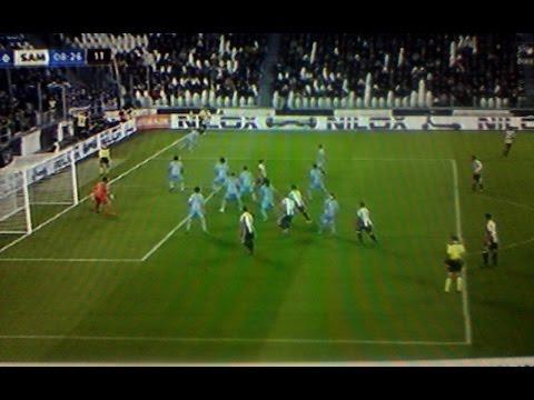 juventus sampdoria 4 1 - zuliani ai gol di mandžukić e chiellini
