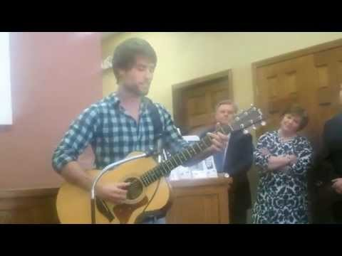 Dylan Arms Performs LIVE at Press Conference
