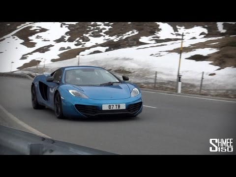 Where - The tenth leg of this year's Where's Shmee tour took us through the Alps in the McLaren 12C Shmeemobile, via Davos, St Moritz, a border check, Lake Como and ...