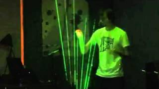 Download Lagu Laser Harp KL-450 played by Conquerearth - Theremin Hero LIVE%21 Finale - Gamecity 5 Nottingham.mp4 Mp3