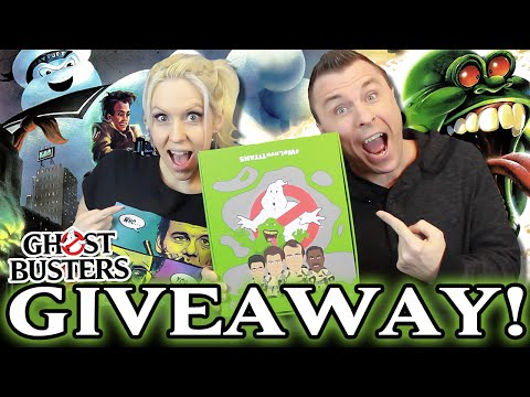 GIVEAWAY: New GHOSTBUSTERS Titans Vinyl Figures (Full Case of 20 Figures!)