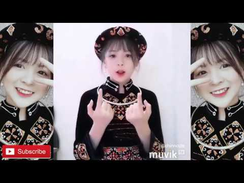 Mông Thị Trinh mặc đồ dân tộc quay Shape of you