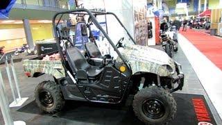 5. 2013 Yamaha Rhino 700FI Camo AP HD ATV - 2012 Salon National du Quad