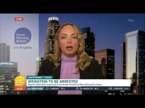 Harvey Weinstein Arrested | Good Morning Britain