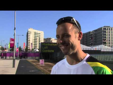 Sport (Industry) - In the week he carries the South African flag at the opening ceremony of the Paralympic Games, Oscar Pistorius speaks exclusively to Sport Industry TV about ...