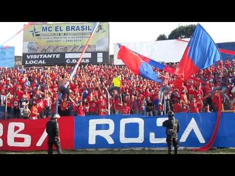 Desde chiquito yo te vengo a ver - Turba Roja - Deportivo FAS