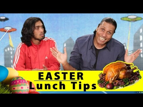 Easter Lunch Tips - Easter Food - Fingers On The Buzz - Comedy One