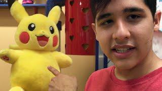Pikachu Pokémon Build-A-Bear! | PokeMart #4 by Munching Orange