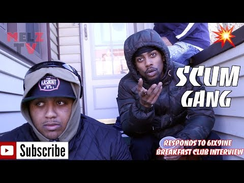 SCUM GANG RESPONDS TO 6IX9INE BREAKFAST CLUB INTERVIEW , CHARLAMANGE , DJ AKADEMICS & MUCH MORE