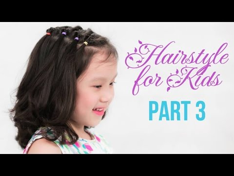 Cute Little Girl's Hairstyle Tutorial   Quick And Easy   Hairstyle For Kids in fall