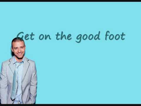 Justin Timberlake - Good Foot - feat. Timbo with Lyrics