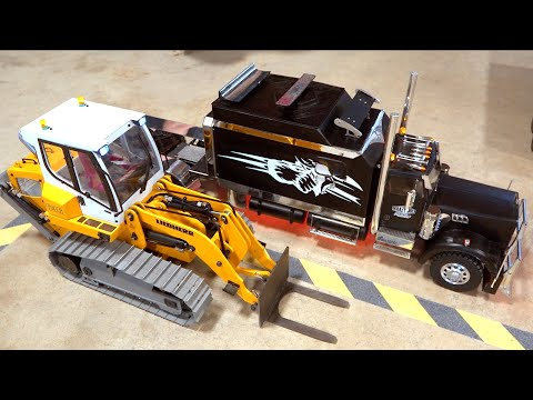 LOADING WARS: TOWER CRANE PENALTY RETURNS! NEW DRIVER BRIAN #ForkliftFights | RC GAME SHOW (s2 e22)