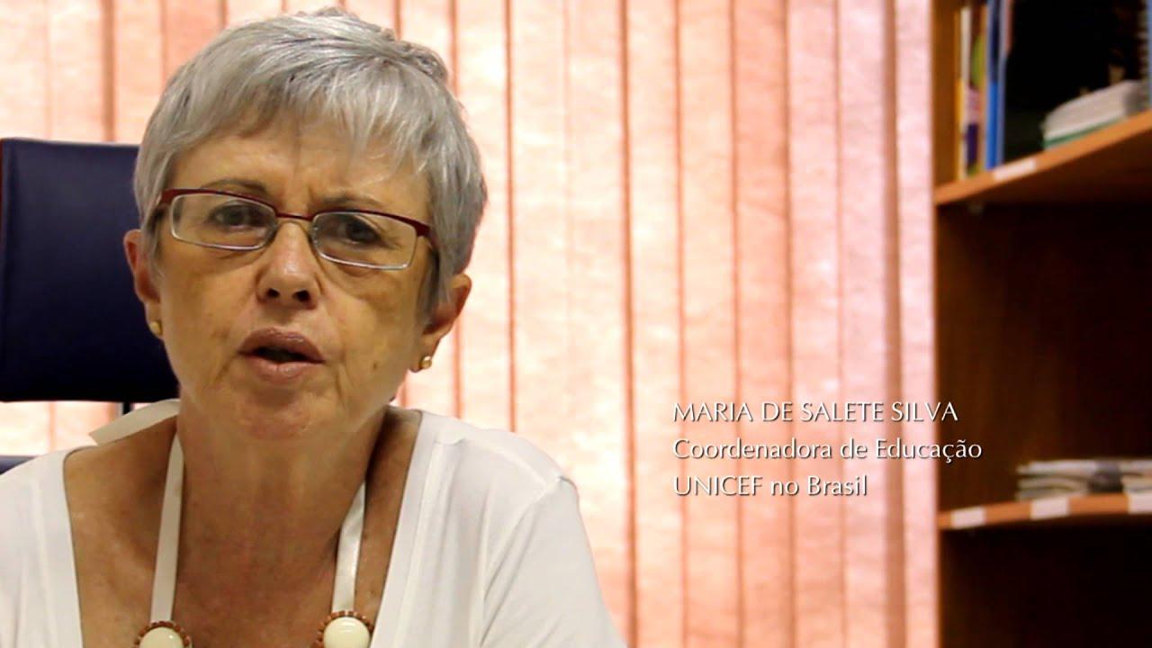 Imagem do vídeo mostrando a Maria de Salete Silva