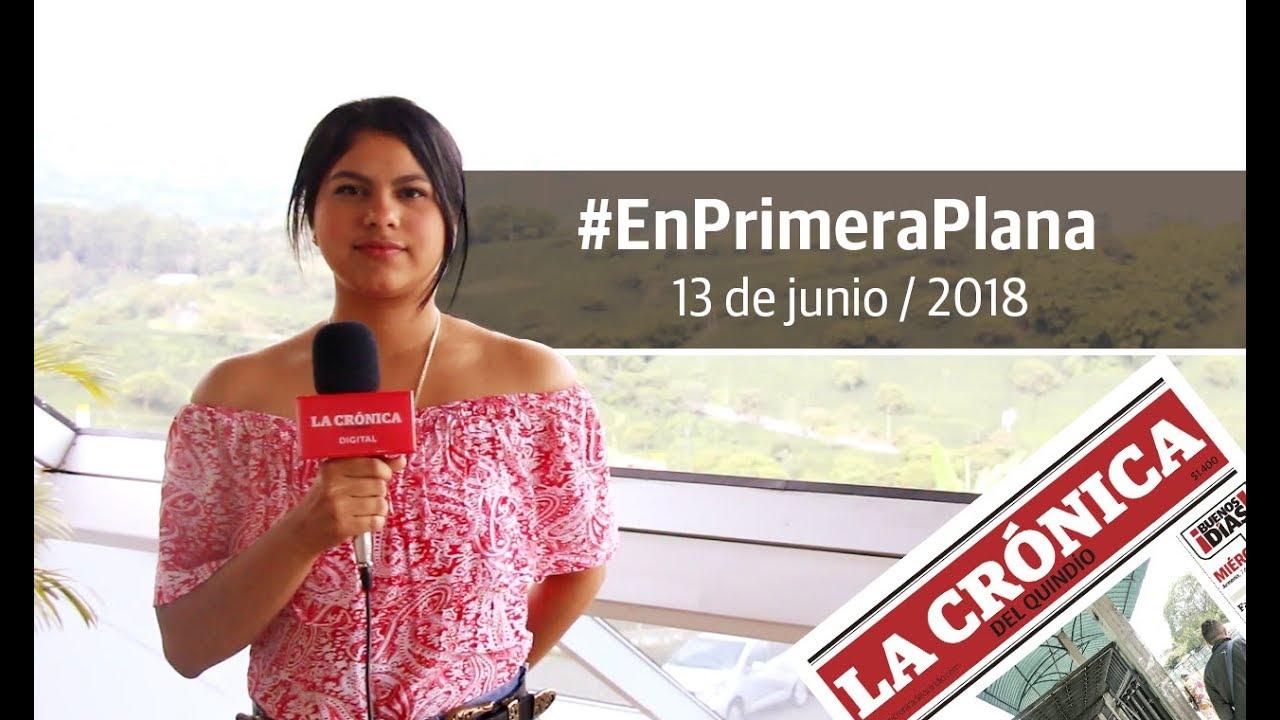 En Primera Plana - 13 de junio de 2018