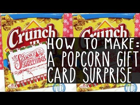 Popcorn Gift Card Surprise
