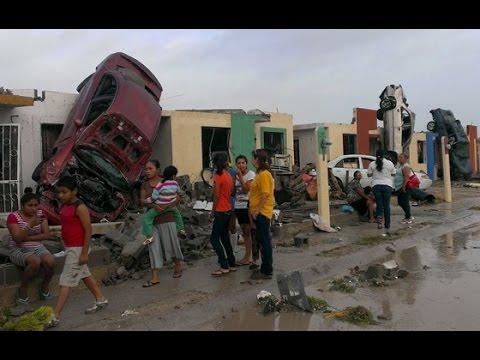 Bebé desaparecido tras el tornado en Coahuila