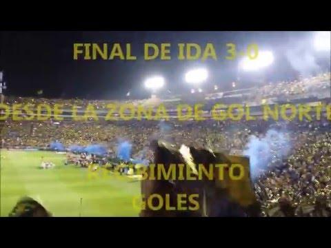 Tigres vs Pumas 3-0 Final de ida - Desde la zona de gol norte - Apertura 2015 - Libres y Lokos - Tigres
