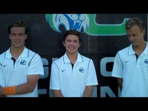 Bobcat Tennis Postgame - Men's Seniors April 2