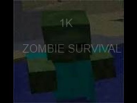 Zombie Survival [7 classes] | [Currency] Minecraft Project