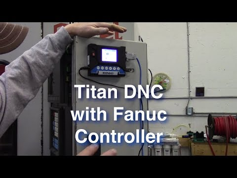 Titan DNC with Fanuc Howto