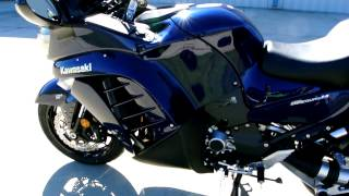 5. On sale now $13,199:  2013 Kawasaki Concours 14 ABS in Metallic Nocture Blue
