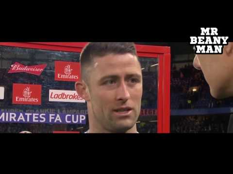 Chelsea vs Manchester United - NGolo Kante - Gary Cahill Post Match Interview