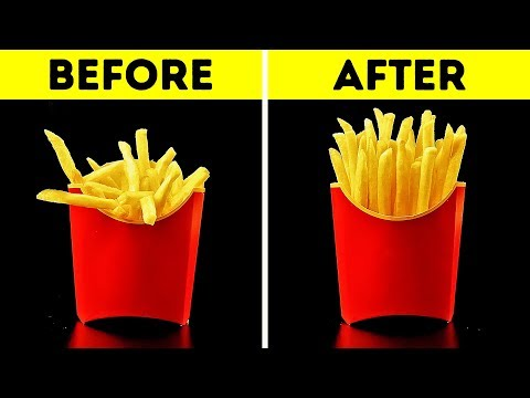 25 AWESOME LIFE HACKS FOR YOUR FAVORITE FOOD