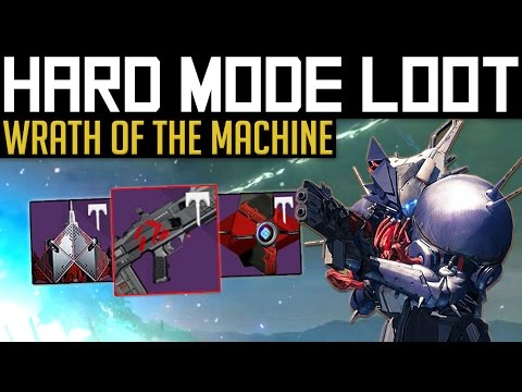 wrath of the machine loot table mode