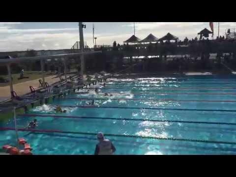 2016 Australian Pool Rescue Championships - U12/13 Girls Patient Tow