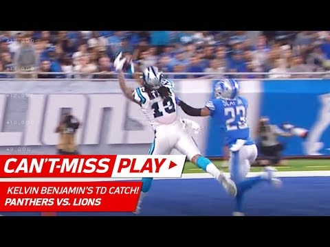 Video: Cam Newton & Kelvin Benjamin Make a Huge TD Connection! | Can't-Miss Play | NFL Wk 5 Highlights