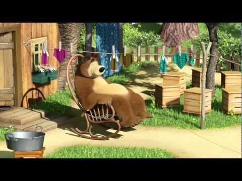 Песенка О чистоте - про умывание - Маша и Медведь