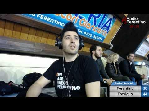 Basket Serie A2 Ovest – Ferentino – Treviglio 3 e 4 Quarto.