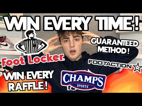 HOW TO WIN EVERY FLX RAFFLE!!! RESERVE HYPED SNEAKERS FROM FOOTLOCKER, FOOTACTION AND CHAMPS!!!