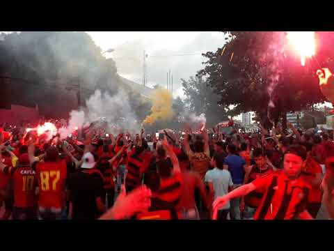 Avenida rubro-negra; Sport x Ceará