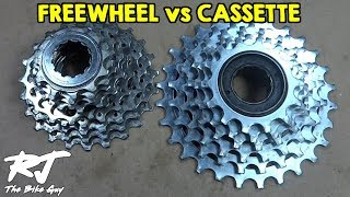 Video Freewheel vs Cassette - What Are They? Can I Convert? MP3, 3GP, MP4, WEBM, AVI, FLV Mei 2017