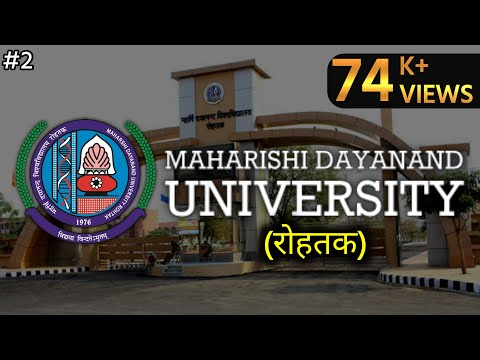 TOUR TO MAHARISHI DAYANAND UNIVERSITY|MDU|ROHTAK|HARYANA|MONTAGE{Part-2}|By HRbara