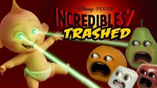 The Incredibles 2 Trailer Trashed   Annoying Orange