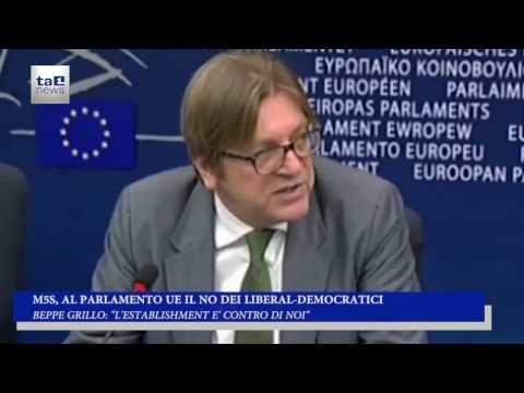 M5S, AL PARLAMENTO UE IL NO DELL' ALDE
