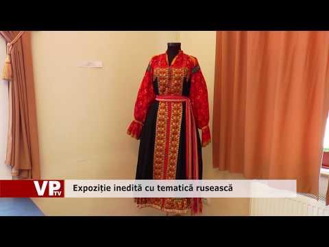 Expoziție inedită cu tematică rusească